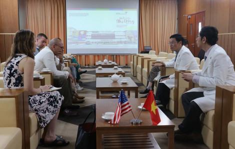 Hoa Kỳ đánh giá cao Bệnh viện Nhi đồng Thành phố trong phòng, chống COVID-19