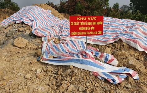Bộ Tài nguyên và Môi trường yêu cầu thu gom chất thải chôn lén ở Sóc Sơn