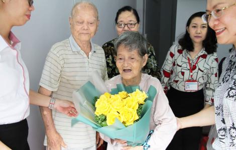 Căn nhà mơ ước của ông bà cụ gần 90 tuổi