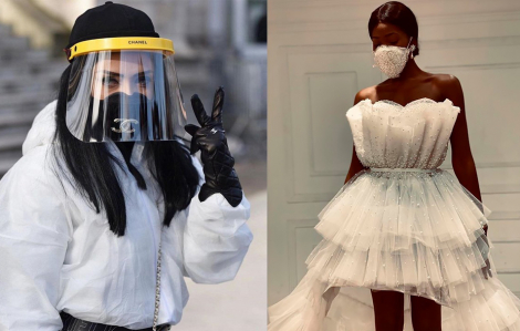 Thời trang từ độc đáo đến kỳ dị giữa mùa dịch COVID-19