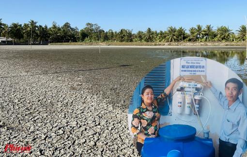 Đại Nghĩa tặng máy lọc nước, Phi Nhung hỗ trợ tiền cho người dân miền Tây chống hạn mặn