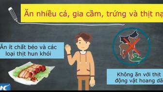 Clip: Ăn uống lành mạnh tại nhà mùa dịch COVID-19