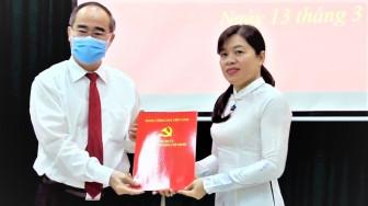 Bí thư Thành ủy Nguyễn Thiện Nhân gửi gắm niềm tin vào Chủ tịch Hội LHPN TPHCM