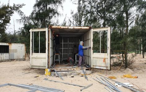 Vụ 130 phòng nghỉ container giữa rừng phòng hộ: Chủ đầu tư vẫn ngang nhiên thi công dù chưa được chấp thuận
