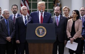 Tổng thống Mỹ tuyên bố tình trạng khẩn cấp quốc gia về coronavirus