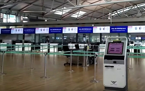Clip: Các sân bay lớn Châu Á như bị bỏ hoang vì đại dịch COVID-19