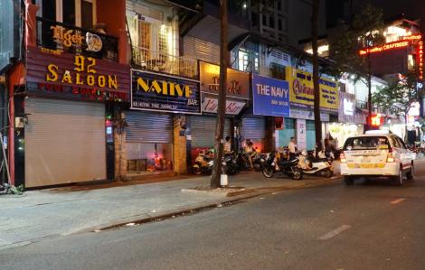 Sài gòn đìu hiu sau lệnh đóng cửa karaoke, quán bar, vũ trường... của UBND quận 1