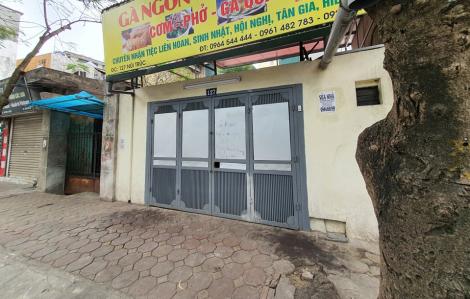 Nhiều cửa hàng trên phố Núi Trúc đóng cửa sau khi phát hiện bệnh nhân nhiễm COVID-19 thứ 50