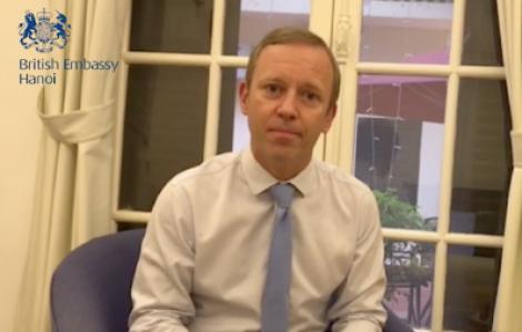 Đại sứ Anh cảm ơn Việt Nam đã giúp các công dân Anh giữa mùa dịch COVID-19