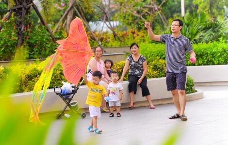 'Săn' nhà rộng cho gia đình nhiều thế hệ