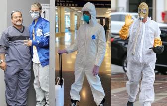 Muôn kiểu thời trang chống dịch COVID-19 của sao Hollywood