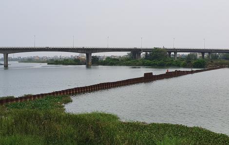 Đà Nẵng đắp đập ngăn mặn để ứng phó với khủng hoảng nước sạch