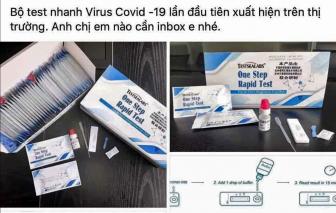Ai cũng tự làm xét nghiệm nhanh COVID-19 thì... loạn