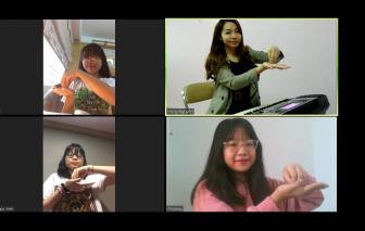Giáo viên thể dục, âm nhạc kể chuyện dạy online mùa dịch