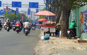 Sài Gòn nắng nóng cháy da nhưng không ai kêu ca
