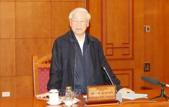 Tổng Bí thư, Chủ tịch nước chủ trì họp Tiểu ban Nhân sự Đại hội XIII của Đảng