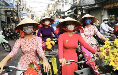 Đạp xe diễu hành hưởng ứng ngày Quốc tế hạnh phúc