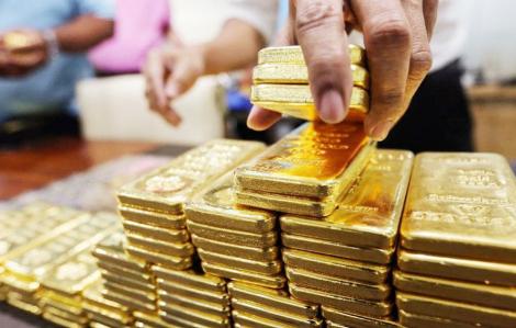 Giá vàng giảm xuống dưới 46 triệu đồng/lượng
