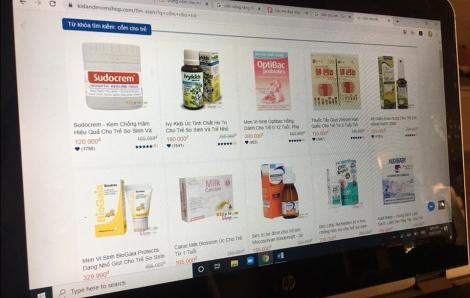 Lo ngại COVID-19, đổ xô mua sản phẩm bổ sung vi chất cho trẻ