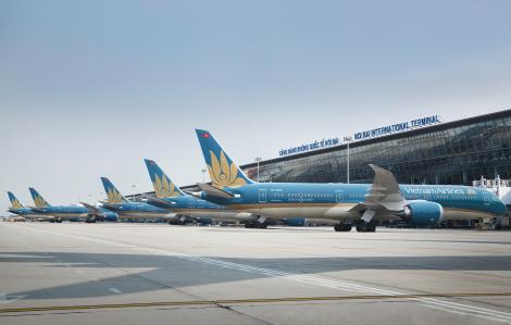 Vietnam Airlines tạm dừng các đường bay quốc tế
