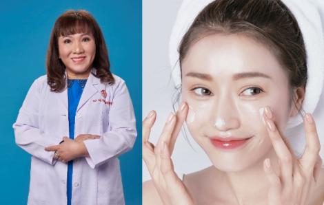 Bác sĩ Võ Thị Bạch Sương hướng dẫn 5 bước chăm sóc da khi phải đeo khẩu trang dài ngày mùa COVID-19