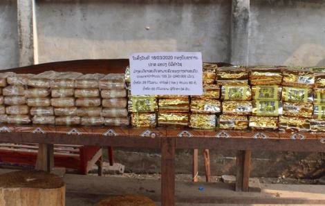 Bắt đường dây vận chuyển 60kg ma túy đá và 240.000 viên ma túy tổng hợp từ Lào về Việt Nam