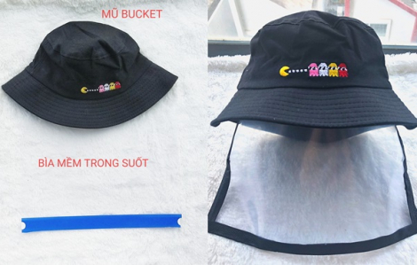 Clip: Hướng dẫn cách làm mũ chống dịch COVID-19