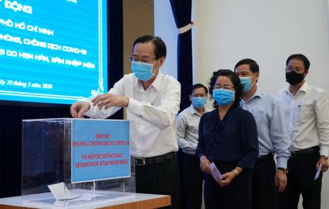 Quyên góp hơn 70 tỷ đồng ủng hộ phòng, chống dịch COVID-19 và hạn mặn