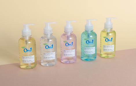 LIXCO ra mắt mẫu mã mới cho gel rửa tay khô ON1