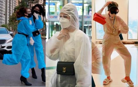 Mỹ nhân Việt 'sành điệu' với thời trang bảo hộ mùa dịch