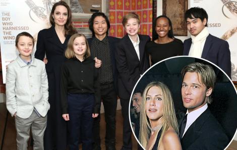 Angelina Jolie không muốn vợ cũ của Brad Pitt gặp gỡ các con