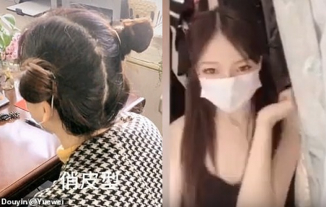 """Clip: Kiểu tóc búi Na Tra được """"tận dụng"""" để đeo khẩu trang trong mùa dịch COVID-19"""