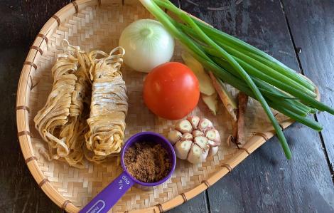 Món mì dễ nấu lại giúp tăng sức đề kháng cho cả nhà