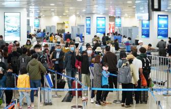 Ngừng mọi chuyến bay từ nước ngoài đến Tân Sơn Nhất từ 0 giờ ngày 25/3