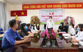 Phụ nữ Sài Gòn góp tiền hỗ trợ lắp đặt phòng cách ly áp lực âm chống COVID-19