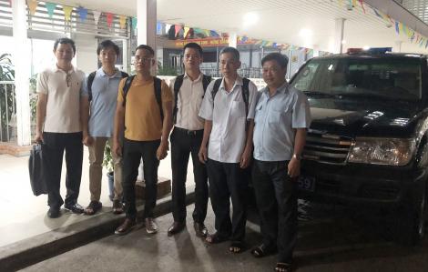 Đội bác sĩ phản ứng nhanh số 2 của Bệnh viện Chợ Rẫy chi viện cho Tây Ninh phòng chống COVID-19