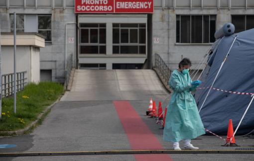 COVID-19 ngày 23/3: Ý gần 60.000 người nhiễm, Thủ tướng Đức Angela Merkel cách ly tại nhà