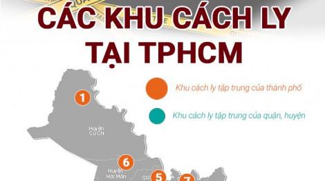 Danh sách các khu cách ly tập trung tại TPHCM