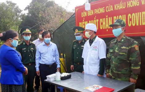 Siết chặt tuyến biên giới Việt - Lào ngăn chặn người vượt biên để trốn dịch
