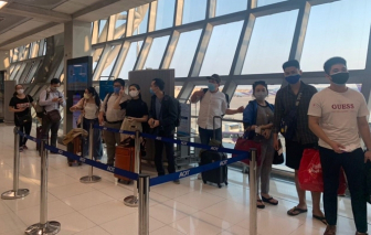100 công dân Việt Nam ở Thái Lan đã về nước