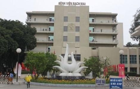 Cấm ra - vào Bệnh viện Bạch Mai để khống chế dịch COVID-19