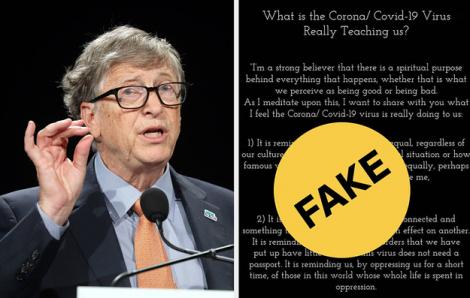 """Nhiều người """"sập bẫy"""" vì bức thư giả danh tỷ phú Bill Gates"""