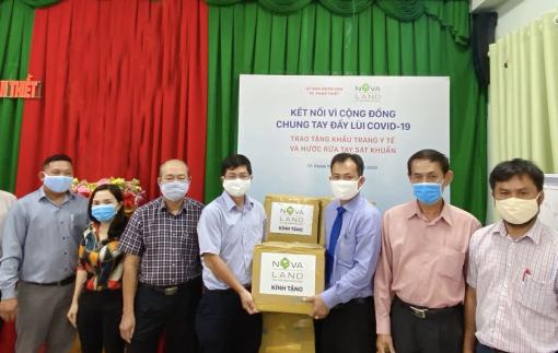 NOVALAND kết nối vì cộng đồng - chung tay đẩy lùi dịch COVID-19 tại tỉnh Bình Thuận