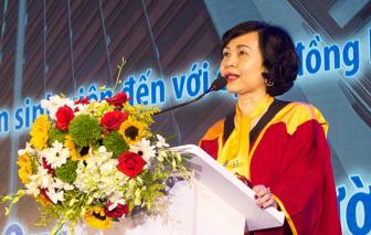Giáo sư Mai Hồng Quỳ thôi giữ chức Hiệu trưởng Đại học Hoa Sen