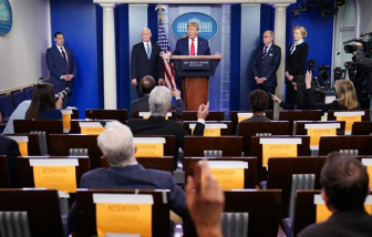 Tổng thống Donald Trump yêu cầu đồng minh hỗ trợ chống dịch COVID-19