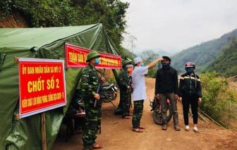 """Phát hiện 7 người từ Lào về nước """"trốn dịch"""" qua lối mòn tự phát"""
