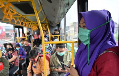 Thủ đô Indonesia lắp đặt trạm rửa tay trên toàn thành phố để chống dịch COVID-19
