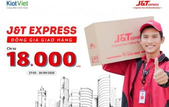 J&T Express đồng giá giao hàng chỉ từ 18.000 đồng trên KiotViet