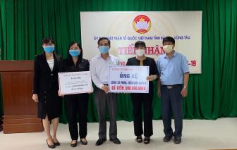 Bà Rịa - Vũng Tàu: Một doanh nghiệp ủng hộ 2,5 tỷ đồng chống dịch COVID-19