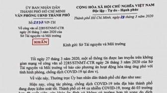 UBND TPHCM không có chủ trương ban hành văn bản kiểm tra lò hỏa táng, phê bình nghiêm khắc Sở TN&MT